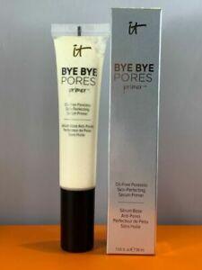 IT Cosmetics Bye Bye Pores Skin Perfecting Serum Primer 1 fl oz / 30ml NEW