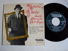 "HENRI GENES chante FERNAND BONIFAY : La Polka du Colonel 7"" EP PACIFIC 90.205 B"