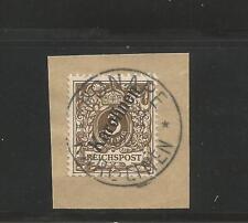 Caroline Is. MI # 1 II, Used, VF, on piece. CV € 16.00