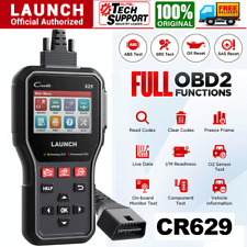 LAUNCH ABS SRS Scan Oil SAS Reset OBD2 Automotive Diagnostic Tool Code Reader