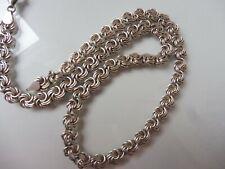 schöne, alte Halskette , 925 Silber , Kette  !