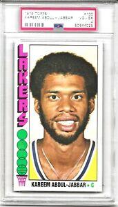 1976 - 77 Topps KAREEM ABDUL-JABBAR # 100 PSA 4 VG-EX HOF Los Angeles Lakers