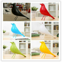 Retro Eames Crow House Bird Home Office Decor Desk Ornament Resin Pigeon Dove