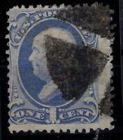 P126790/ UNITED STATES – SCOTT # 134 USED – CV 225 $