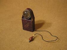 ███►Rarität/Museumsstück uralte Kugeluhr mit Beleuchtung - um 1900