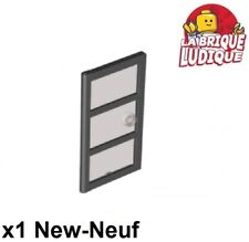 Lego Porte /& fenêtres à barreaux 1x4x6 windows New clef Neuf Black Jail door