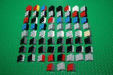 Lego 3937 6134, 65x Scharnier Kipp Gelenk Unterteil Platte 1x2 hinge brick