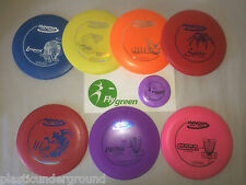 Frisbee Disc Golf 7 Pack Innova Beginner Starter Set. Pick From Over 40 Models.