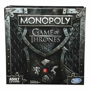 Monopoly Game of Thrones Board House Game for Adults musical stand HBO Series