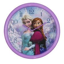Frozen Disney Elsa y Anna Reloj de niños para la pared niñas 11-di222 Análogo