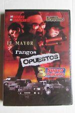 DVD - Latin - Rangos Opuestos - 3 Super Peliculas - El Mayor - El Agente Borrego