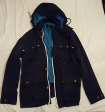 Men's H&M Coat Excellent Condition Size 38R Blue