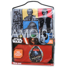 Star Wars Hans Solo Jedi Master Yoda Boys Bean Bag 100L Capacity New