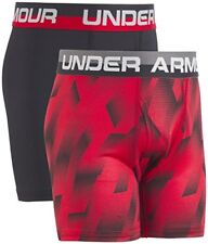 UNDER ARMOUR ORIGINAL BOXER JOCK SIZE YSM 2 PACK BOXER BRIEF 2 PACK BOYS BRIEF