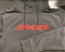 Spyder Hoodie Black Mens Medium