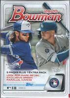 2020 Topps Bowman Baseball Bobby Witt Jr Jasson Dominguez Rc Blaster 2 Box Lot