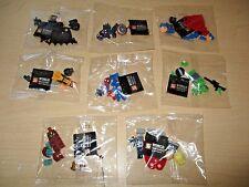 8 S WORLD COLLECTION DC COMICS MARVEL SUPERHERO AVENGERS LEGO MINIFIGURES
