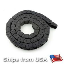 3D Printer CNC Router Cable Drag Chain Wire Carrier 14*17mm 10/10mm 1 meter long