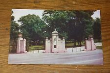 Vintage Postcard Entrance To Wheeling Park, Wheeling, West Virginia