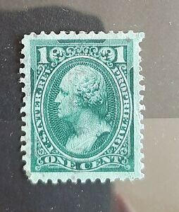 1875-81 US First Issue Proprietary 1c US Revenue Stamp #RB11b Fine Used Hinged
