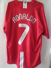 Manchester United 2007-2009 Home Ronaldo 7 super cup Football Shirt  xl /34639