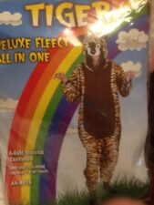 Adult Deluxe Tiger Costume Zoo, Circus, New