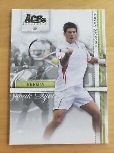 2007 Novak Djokovic Ace Authentic Tennis Rookie Card #16 RC