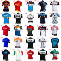2020 Mens Short Sleeve Cycling Jersey Bike Shirt Road Racing Bicycle Uniform