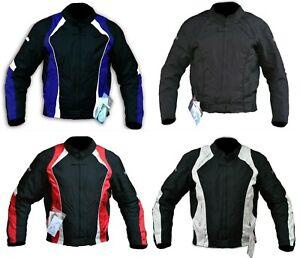 Veste blouson imperméable pour de moto en Cordura avec protections homologuée CE