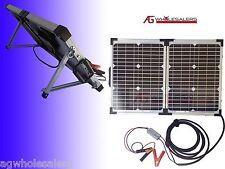 40W 12V / 24V SOLAR PANEL & REGULATOR  BOSCH GERMAN CELLS  CHARGER WATT 10 20