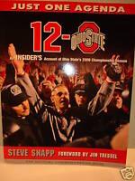 OHIO STATE 12~0 '06 Championship Buckeyes Football Book College-NCAA