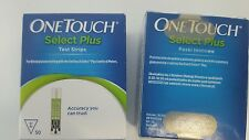 One Touch Select Plus Test Strips (100) - Brand New, Sealed