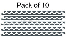 Infill Strips for Corrugated Roof Sheets - Pack of 10 -Closed Cell Foam Roofing