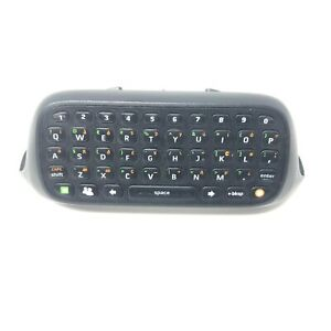 Official Xbox 360 Chatpad Keyboard Attachment Black