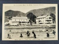 Tracadigash Mountain The Wilfred Hotel Des Chaleurs Beach Postcard (unposted)