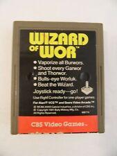 Atari 2600 CBS Wizard Of Wor Tested