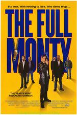 THE FULL MONTY MOVIE POSTER 27x40 DS original NAKED MEN
