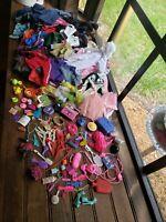 Huge Vintage Mattel Mix lot Barbie Doll, Clothes, Accessories, wind up boom box