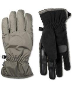 ISOTONER Signature Men's SmartDRI Touchscreen Gloves, Dark Sage, Size L, NWT