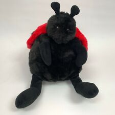 Unipak Lady Bug Ladybug Red Black Stuffed Animal Plush Toy
