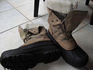 Winter Stiefel Canadian boots warm gefüttert Wasserdicht 41 Leder