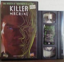 VHS ITA FILM Fantascienza KILLER MACHINE karen allen ex nolo no dvd(VHS24)