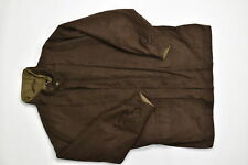 Jos. A. Bank XL Regular  Full Zip Coat Jacket Lined Soft Warm Brown  Polyester