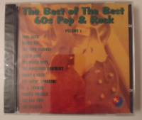 THE BEST OF THE BEST 60S POP & ROCK VOL. 1 CD BRAND NEW