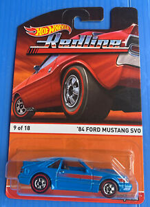Hot Wheels 2016 RedLine '84 Ford Mustang SVO Rare
