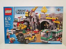 Lego City set 4204 The Mine *BRAND NEW & FACTORY SEALED!* town construction gold