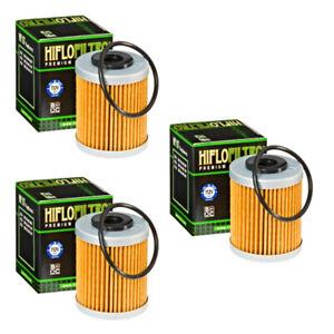 Hiflofiltro HF157 Oil Filter 3 Pack KTM 400 450 520 525 560 660 690