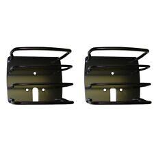 RUGGED RIDGE 11226.01 Euro Tail Light Guards Black For 76-06 Wrangler CJ/YJ/TJ
