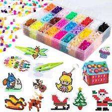 Sortiert Fuse Beads Kit - 4500 Stück 5 mm 24 Farben Bügelperlen Set Kinder