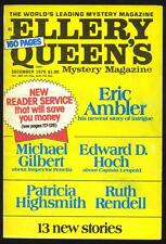 Ellery Queen's Mystery Magazine December,  1975